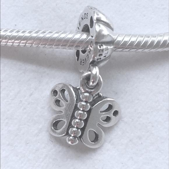 best friend pandora charm butterfly